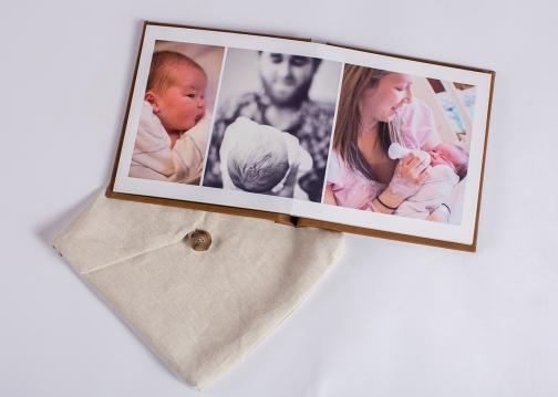 10x10 Flush Mount Album Jonesboro Family Photographer