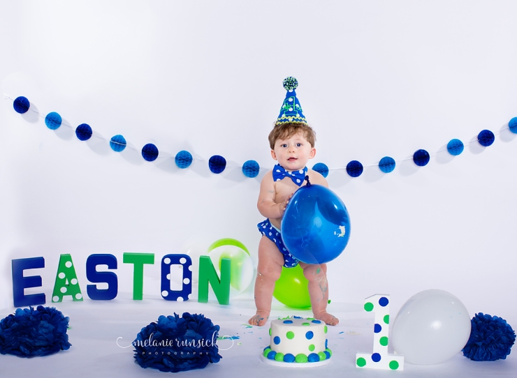 Jonesboro Arkansas Cake Smash Photographer Melanie Runsick Photography