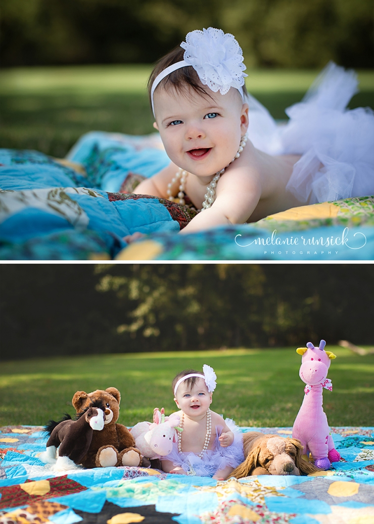 Melanie Runsick Photography Jonesboro Arkansas 6 month session