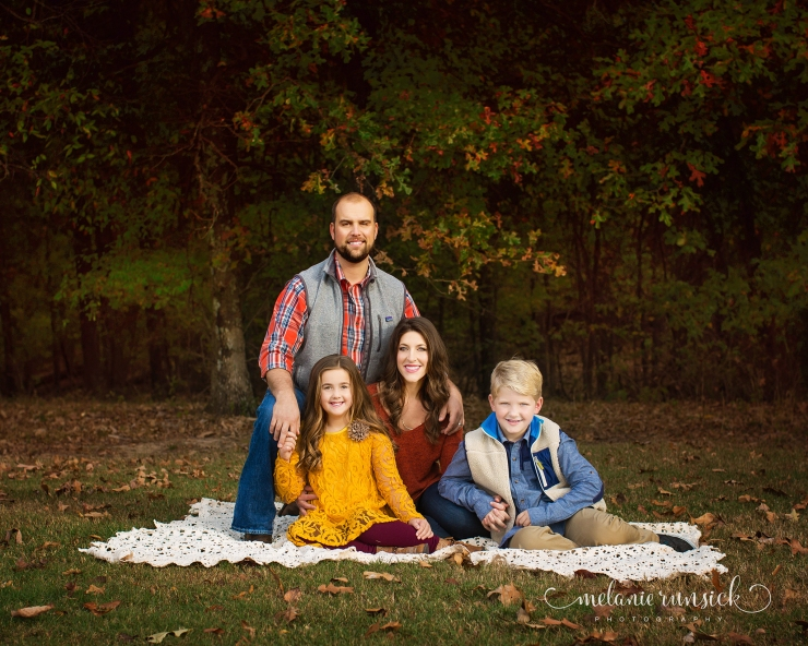 Melanie Runsick Photography Jonesboro Arkansas Fall Family Session