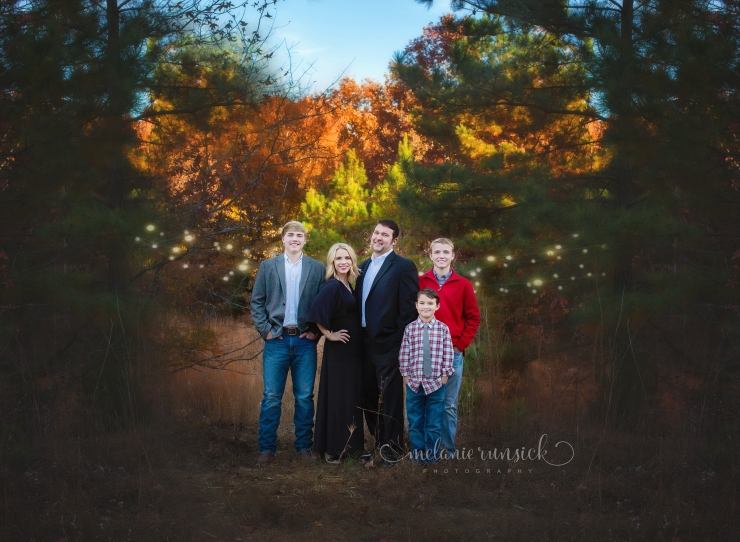 Fall Family Session Jonesboro Arkansas Melanie Runsick Photography