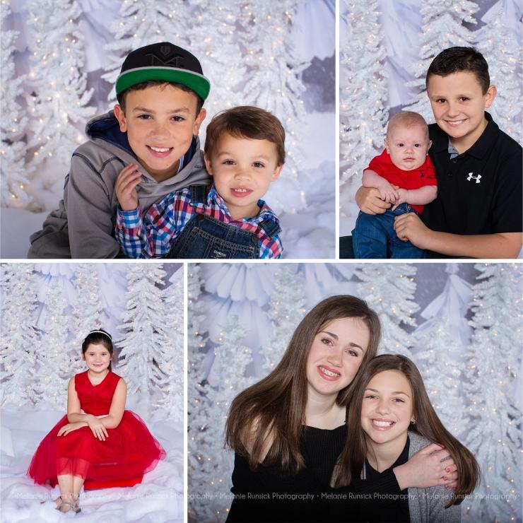 Melanie Runsick Photography Winter White Christmas Mini's Jonesboro Arkansas