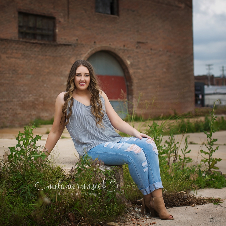 Northeast Arkansas High School Senior Photographer Melanie Runsick Photography