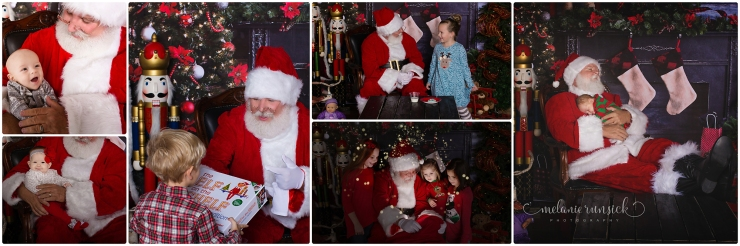 Melanie Runsick Photography Jonesboro Arkansas Cookies with Santa 2017 In Studio Session