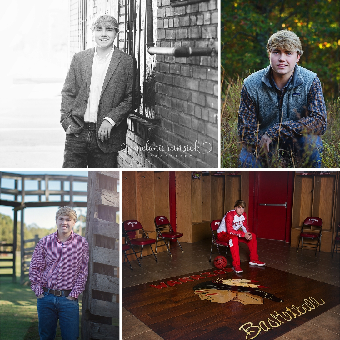 Melanie Runsick Photography Westside Senior Photographer Jonesboro Arkansas Senior Photographer