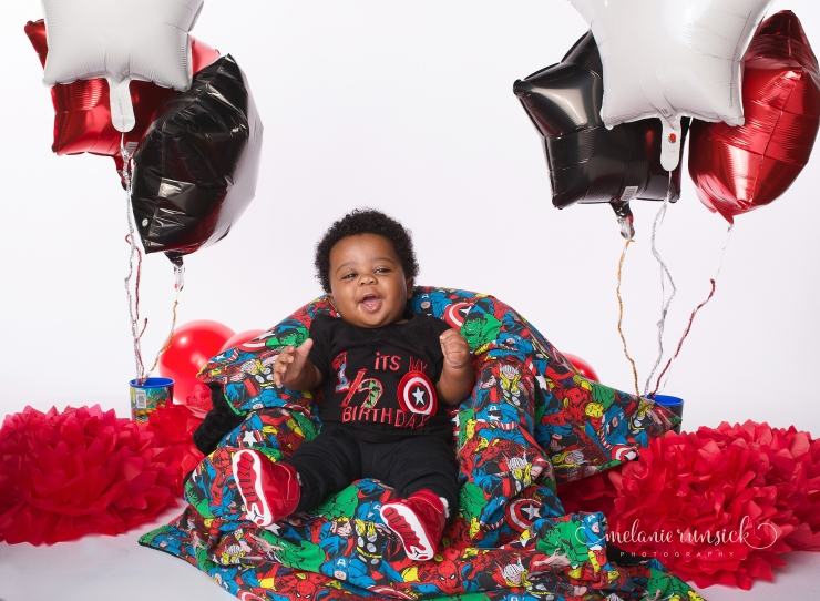 Jonesboro Arkansas Melanie Runsick Photography 6 month milestone session