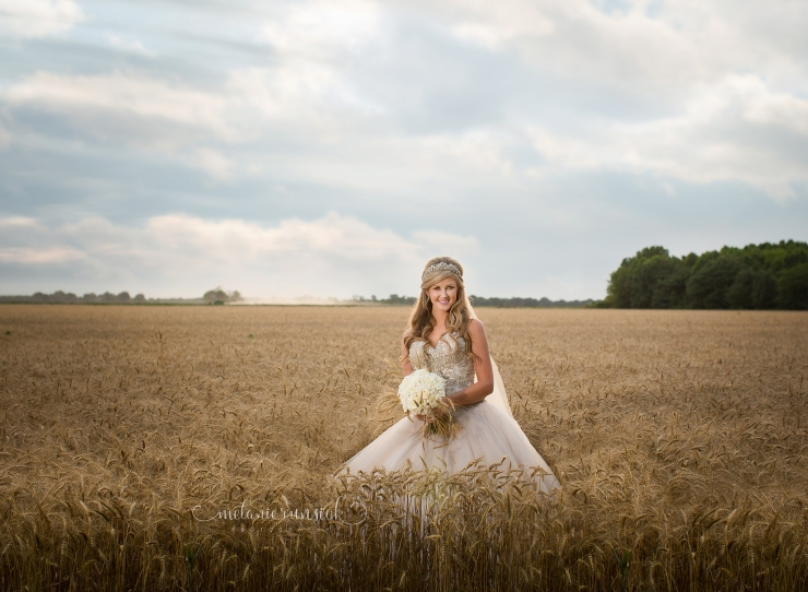 Melanie Runsick Photography Jonesboro Bridal Portrait Photographer