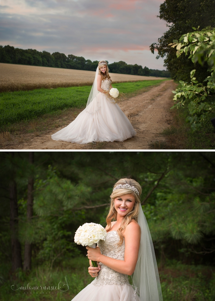 Melanie Runsick Photography Jonesboro Wedding and Bridal Portrait Photographer